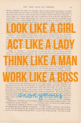 Act Like a Lady, Think Like a …Man?
